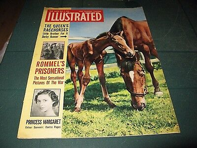 Vintage Magazines - Illustrated - 9Th May 1953 The Queen`s Race Horses