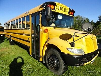 2010 IC CE 77 Passenger Used School Bus 2 Roof Hatches 128463K3