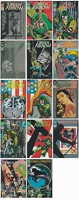 Green Arrow Vol 1 Issues 54 55 57-62 64 67-71 DC Comics Comic Lot NM- 1991-1993