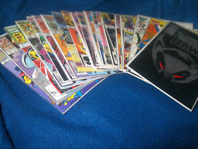 lot of 24 comics brand new never opened with backing, cover bags x-men superhero