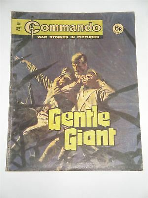 Commando - War Stories In Pictures - Gentle Giant Issue No. 821