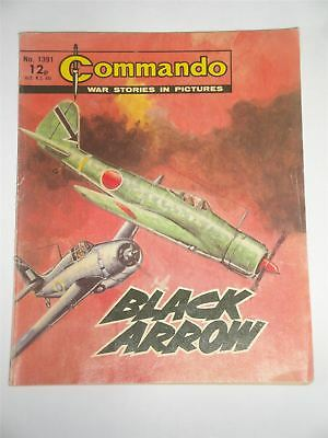 Commando - War Stories In Pictures - Black Arrow Issue No. 1391