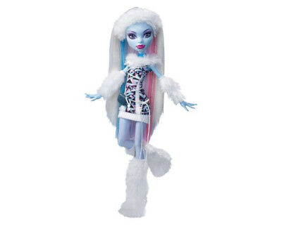 Monster High Abbey Bominable Doll Daughter of the Yeti FASHION ONLY (MHABYF1)