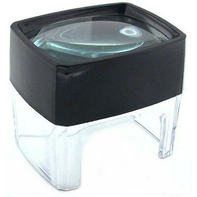 6X Printers Photographers Table Magnifier Magnifying Glass Craft Stamp Coin