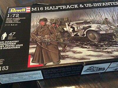 Revell 1/72 M16 Diorama With Infantry
