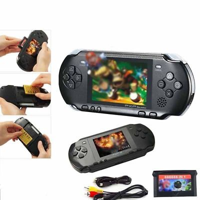 PXP3 Game Console Handheld Portable 16 Bit Retro Video LCD 150+ Games Gift