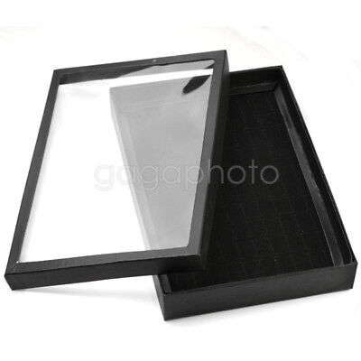 Retail 100 Slots Ring Jewelry Display Tray Case Storage-Box Showcase Holder