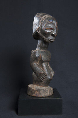 Hemba Male Figure, Belgian Congo, Old South African Collection.