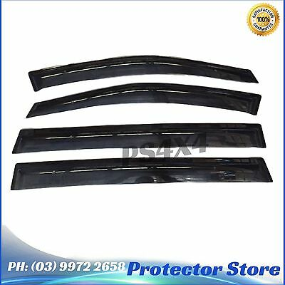 Superior INJECTION WEATHER SHIELDS to suit Toyota Tarago 2007-2015 Window Visors