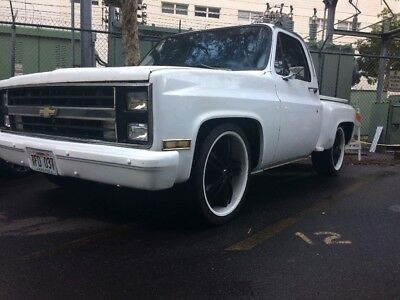 1984 Chevrolet C-10 Sidestep 1984 c10 sidestep manual 3 speed