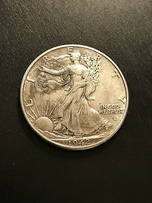 1942 50C Walking Liberty Half Dollar