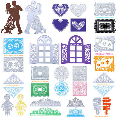 Lace Metal Cutting Dies Stencil for DIY Scrapbooking Embossing Album Card Craft