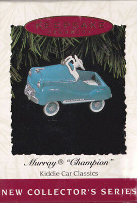 "Hallmark Ornament 1994 Kiddie Car Classics ""Murray Champion"" 1st in Series NIB 1"