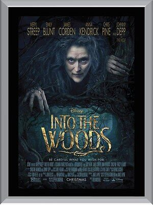 Into The Woods A1 To A4 Size Poster Prints
