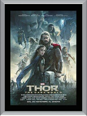 Thor The Dark World Movie A1 To A4 Size Poster Prints