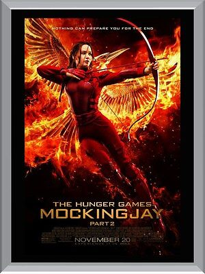 The Hunger Games Mockingjay A1 To A4 Size Poster Prints
