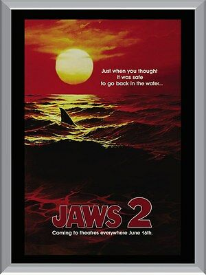 Jaws 2 A1 To A4 Size Poster Prints