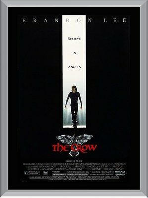 The Crow Brandon Lee A1 To A4 Size Poster Prints