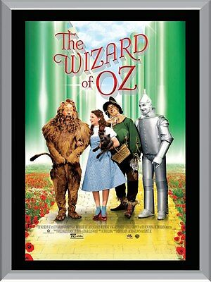 The Wizard of Oz Movie  A1 To A4 Size Poster Prints