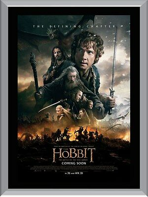 The Hobbit Battle of The Five Armies A1 To A4 Size Poster Prints