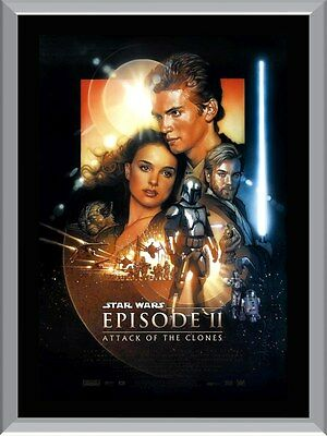 Star Wars Attack Of The Clones A1 To A4 Size Poster Prints