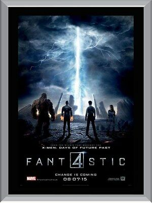 Fantastic 4  Movie A1 To A4 Size Poster Prints