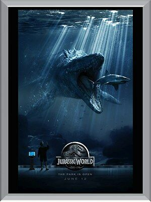 Jurassic World Underwater A1 To A4 Size Poster Prints