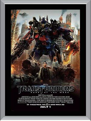 Transformers Dark Of The Moon A1 To A4 Size Poster Prints