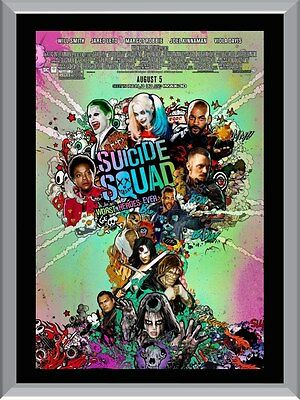 Suicide Squad Movie A1 To A4 Size Poster Prints