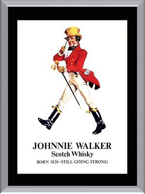 Johnnie Walker Whisky A1 To A4 Size Poster Prints