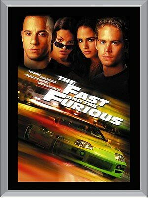 The Fast And The Furious A1 To A4 Size Poster Prints