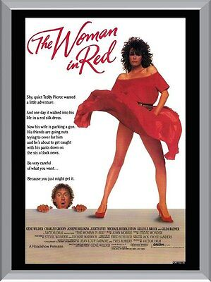 The Woman In Red Movie A1 To A4 Size Poster Prints