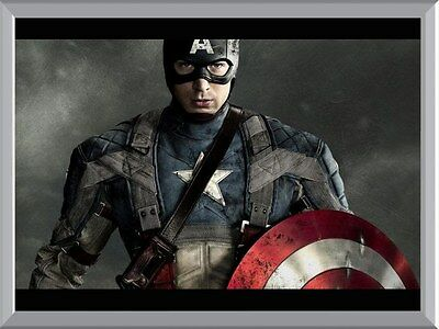 Captain America A1 To A4 Size Poster Prints
