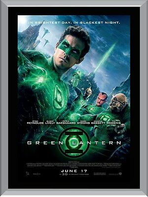 The Green Lantern Movie A1 To A4 Size Poster Prints