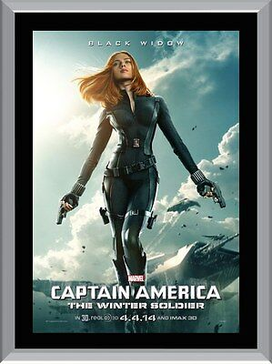 The Winter Soldier Black Widow A1 To A4 Size Poster Prints