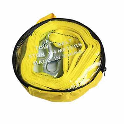 Car Pulling Heavy Duty Self-Rescue Tow Rope Strong Hook Towing Rope 4M 5Tons