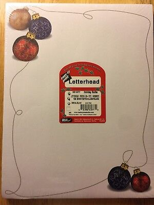 Great Papers! HOLIDAY BULBS Christmas Holiday Letterhead 100 sheets