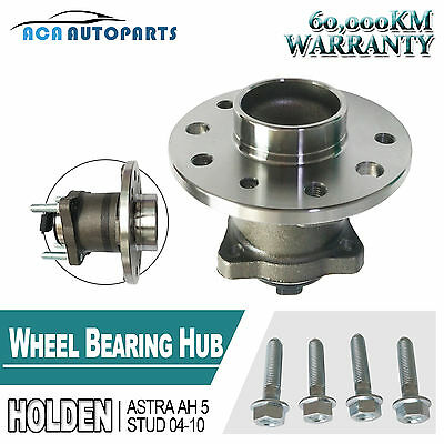 Wheel Bearing Hubs With ABS Rear HOLDEN ASTRA AH 2D H/B FWD ABS 1.9 Diesel Pair