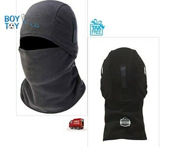 Thermal Ski Mask Full Face Cover Winter Fleece Warm Baclava Windproof Hinged Men