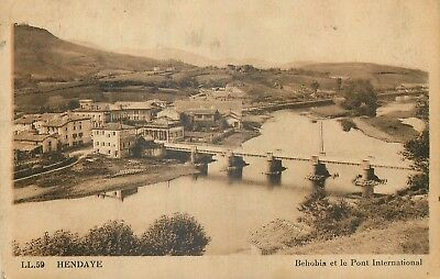 64 Hendaye Behobia Et Pont International Ll
