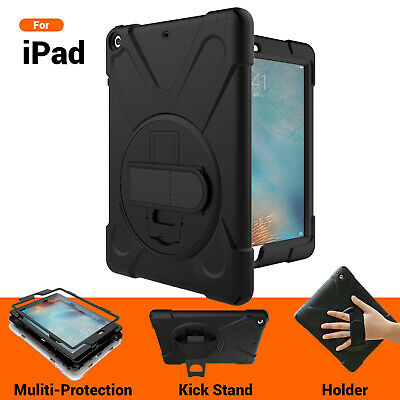Heavy Duty Shock proof Case For iPad 5 6 Pro 10.5 9.7 Air 2 Mini 4 3 2 1