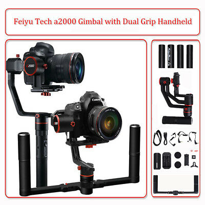 Feiyu Tech α2000 3-Axis Gimbal Handheld Stabilizer for Mirrorless DSLR Cameras