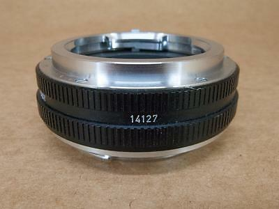 Leitz Leica 14127 adapter for Visoflex M lenses on Leicaflex bodies