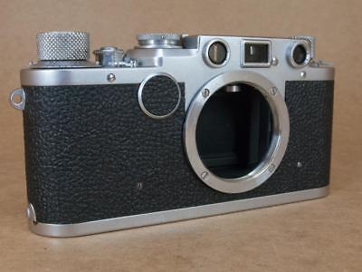 Leitz Leica Ic converted to IIf Black Dial 1950/1