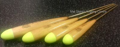 Drake Floats Yellow Dome Brass Stem Stick Float Selection