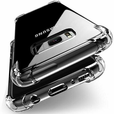 Fit For Galaxy S7 S8 S9 Note8 J3 J5 Shockproof Bumper Case Cover -Crystal Clear