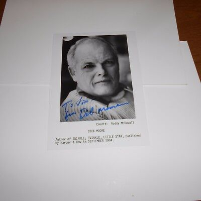 actor Dick Moore, including Twinkle Twinkle, Little Star Hand Signed Photo