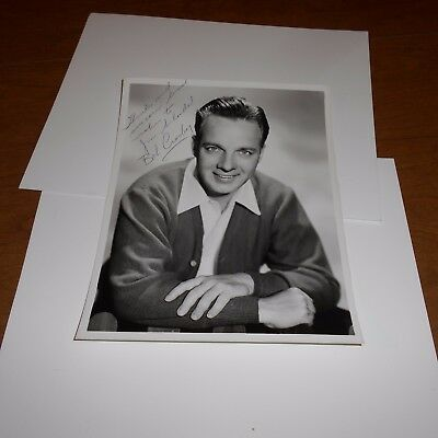 Bob Crosby  bandleader   Hand Signed Photo