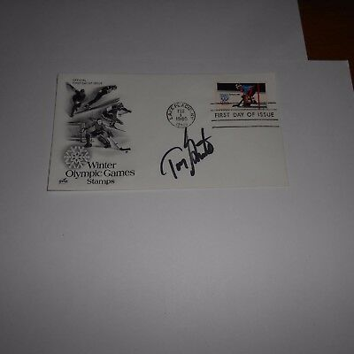 Tony Granato is a retired American NHL hockey player Hand Signed FDC