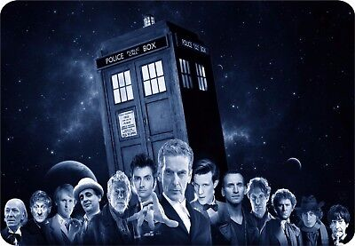 All the Dr Who's mouse mat